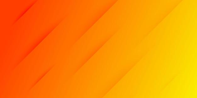 Fond moderne abstrait dégradé rouge et jaune