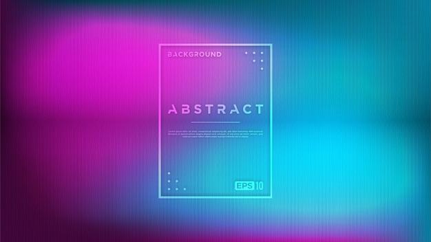 Fond moderne abstrait lumineux avec style flou