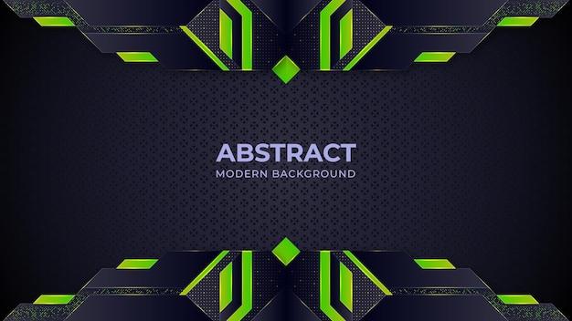Fond moderne abstrait vert