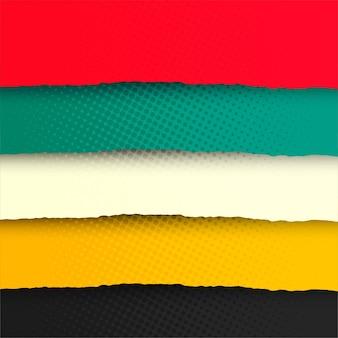 Fond moderne et coloré