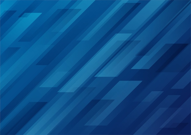 Fond moderne de forme géométrique dégradé bleu abstrait.