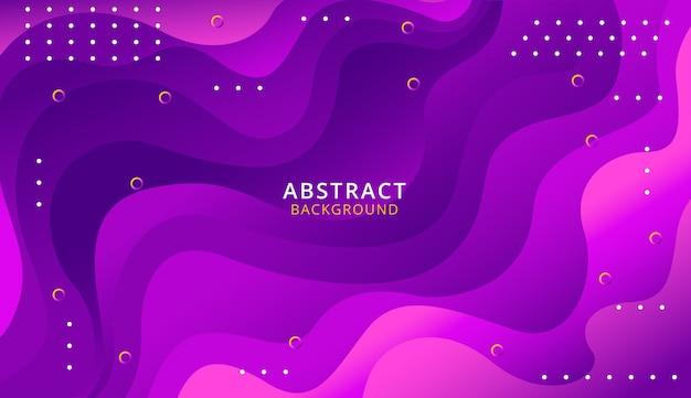 Fond moderne de formes abstraites