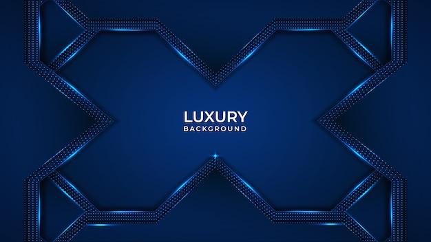 Fond moderne de luxe avec forme abstraite géométrique