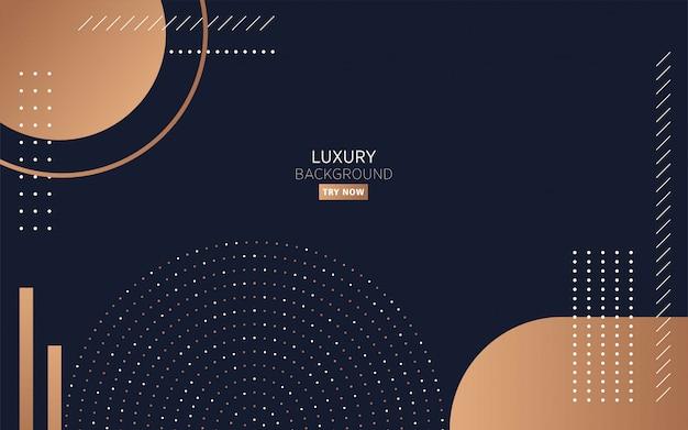 Fond moderne de luxe minimaliste noir
