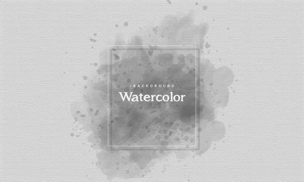 Fond monochrome aquarelle splash
