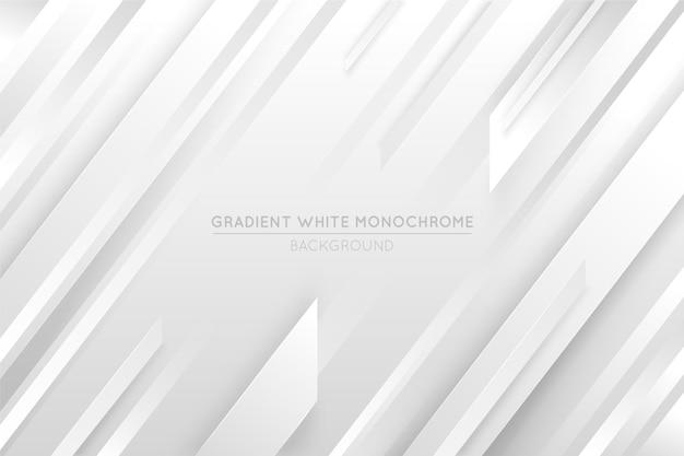 Fond monochrome blanc dégradé