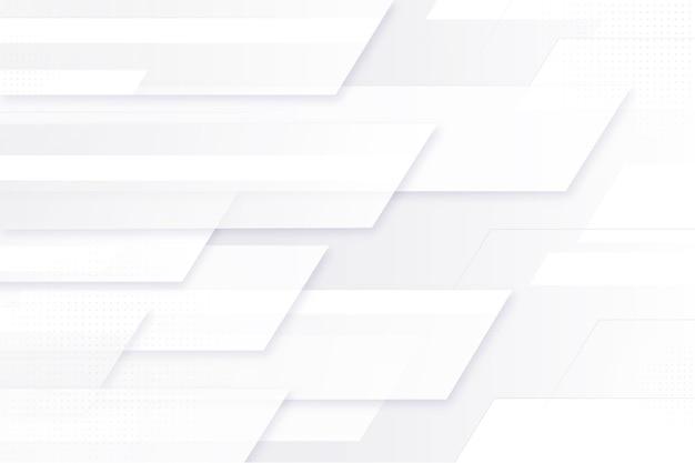 Fond Monochrome Blanc Dégradé Vecteur Premium