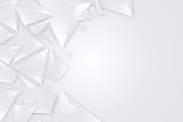Fond monochrome blanc réaliste