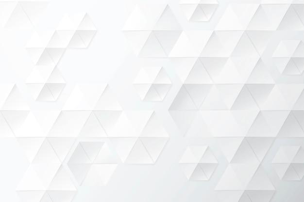 Fond Monochrome Blanc De Style Papier Vecteur gratuit