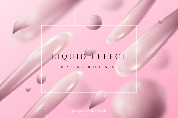 Fond monochrome effet liquide réaliste