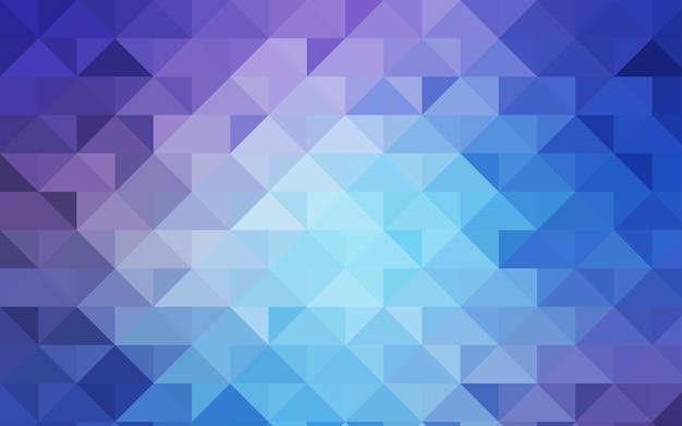 Fond de mosaïque abstraite vecteur bleu clair de vecteur