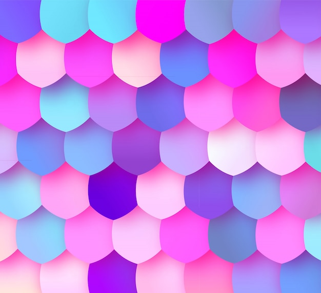Fond de mosaïque colorée pastel