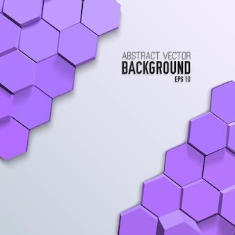 Fond de mosaïque géométrique propre