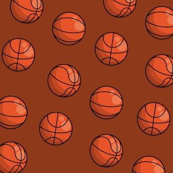 Fond de mosaïque de matériel de sport