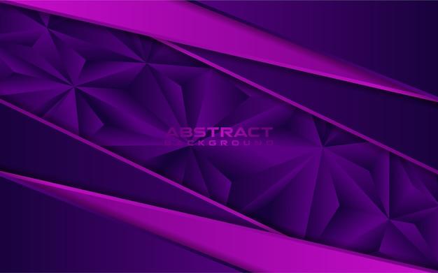 Fond de mosaïque violet de luxe avec des lignes roses