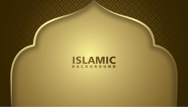 Fond de mosquée, fond islamique