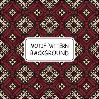 Fond de motif décoratif ethnique