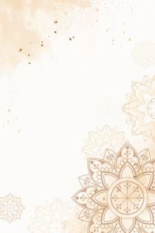 Fond à motifs du festival de diwali