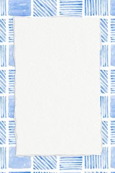 Fond à motifs géométriques sans couture bleu indigo