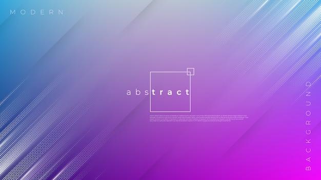 Fond avec mouvement abstrait coloré