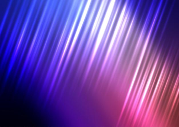 Fond de mouvement abstrait avec conception de lignes dynamiques