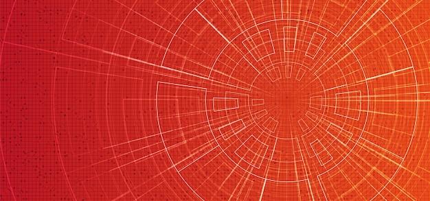 Fond de mouvement de vitesse hyper-espace