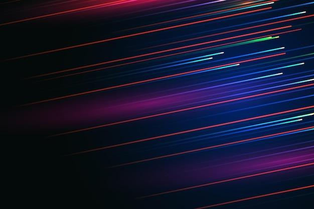 Fond de mouvement de vitesse néon dégradé