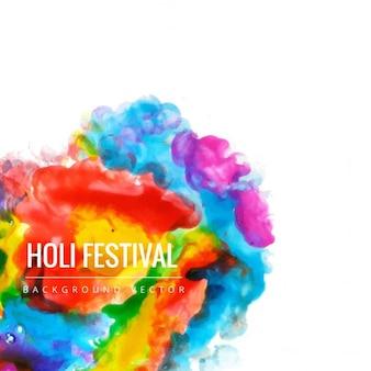 Fond multicolore, festival de holi