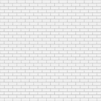 Fond de mur de brique blanche.