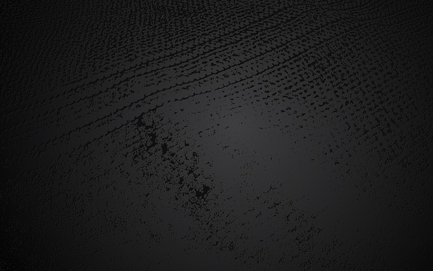 Fond de mur décoratif abstrait grunge noir