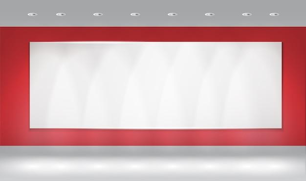 Fond de mur avec la tache lumineuse