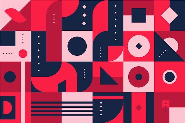 Fond mural géométrique
