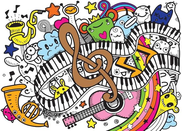 Fond de musique abstraite