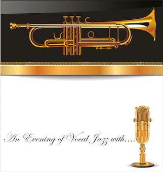 Fond de musique jazz