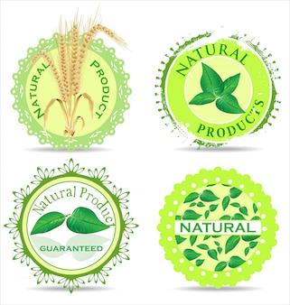 Fond naturel vert
