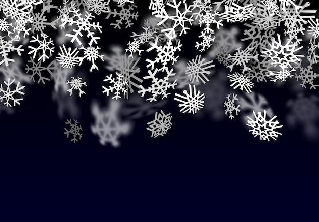 Fond de neige