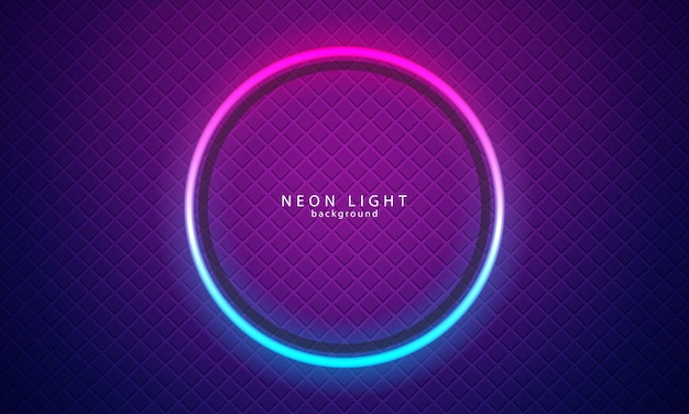 Fond néon