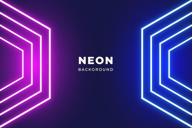 Fond de néons