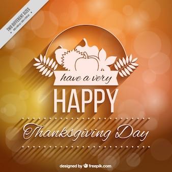 Fond de nice avec un flou pour le jour de thanksgiving