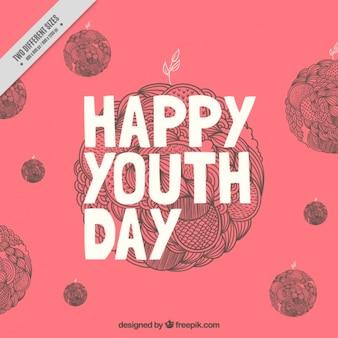 Fond de nice pour la journée de la jeunesse