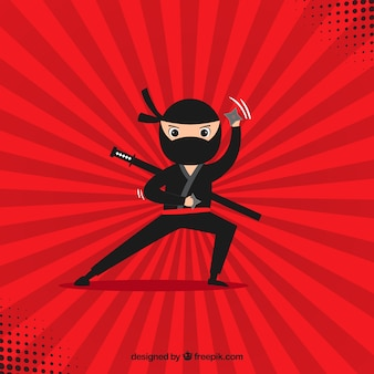 Fond de ninja