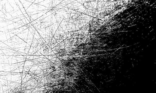Fond noir et blanc grunge avec des rayures