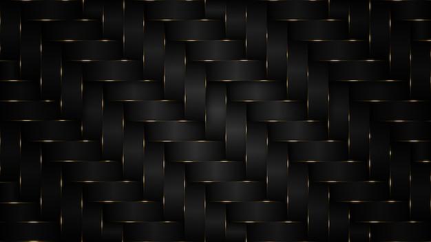 Fond noir luxueux