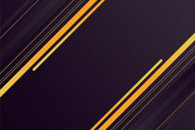 Fond noir réaliste avec des textures dorées