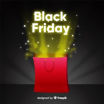 Fond noir vendredi