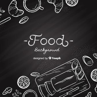 Fond de nourriture tableau