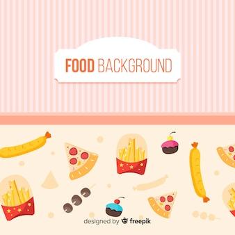 Fond de nourriture