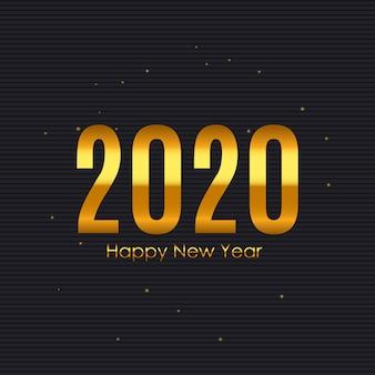 Fond de nouvel an 2020 et joyeux noël