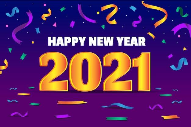 Fond de nouvel an 2021