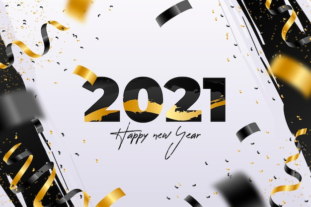 Fond de nouvel an 2021